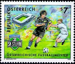 Fußballmeister - SK Puntigamer Sturm