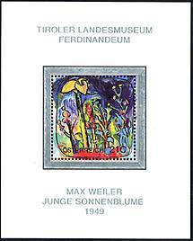 Max Weiler - Junge Sonnenblume
