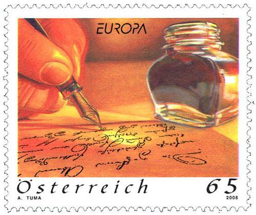 Briefe Mit Briefmarken Bekleben : Briefe schreiben briefmarken kunst und kultur