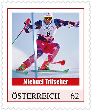 Briefmarke, Michael Tritscher