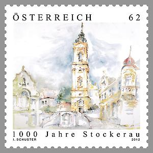Briefmarke, Stockerau