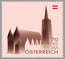 Briefmarke, Stephansdom