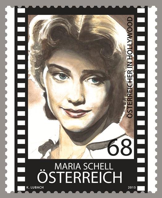 Maria Schell Briefmarke