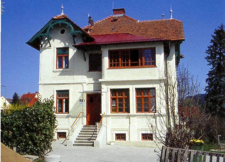 villa gleisdorf architektur isg kunst und kultur im austria forum. Black Bedroom Furniture Sets. Home Design Ideas