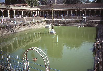 Temple of Minakshi, holy ponds