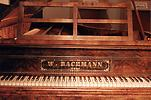 Grand piano of the Viennese master Wilhelm Bachmann