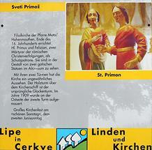 St. Primus Beschreibung