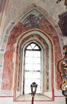 Johanneskirche Pfarre Vuceniza Fenster