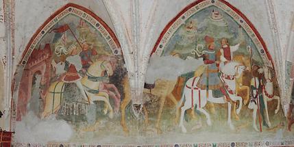 Johanneskirche Pfarre Vuceniza Fresko