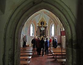 Johanneskirche Pfarre Vuceniza Kirchenraum