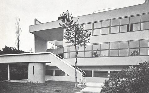 Villa Stein Garches, Le Corbusier, 1927.