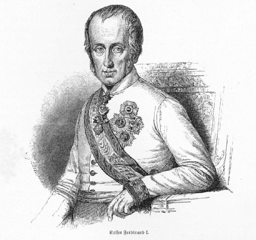 """Ferdinand I. """"der Gütige"""""""