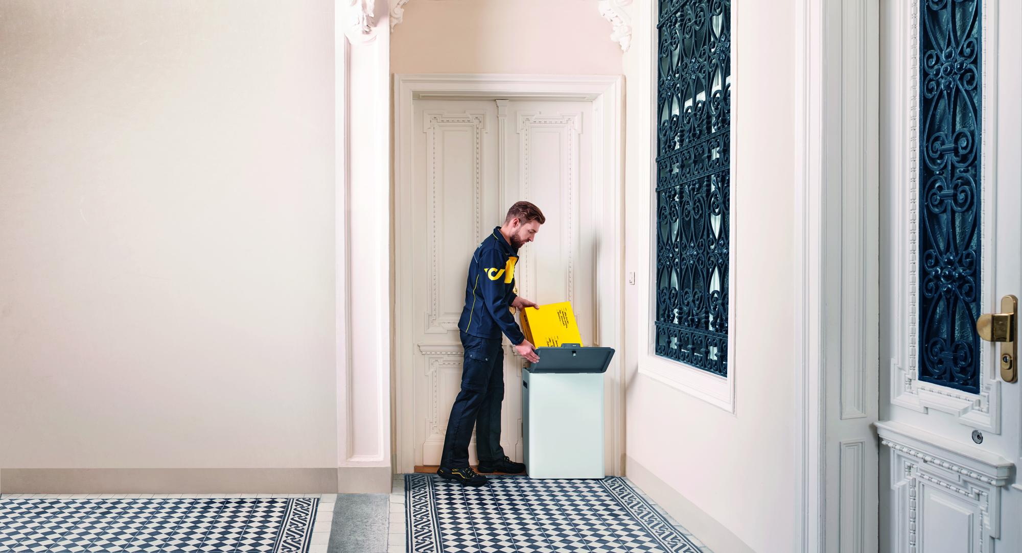 paketzustellung der sterreichischen post aeiou sterreich lexikon im austria forum. Black Bedroom Furniture Sets. Home Design Ideas
