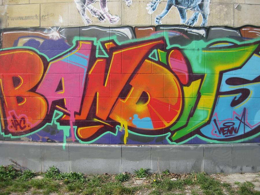 Graffito 'Bandits'