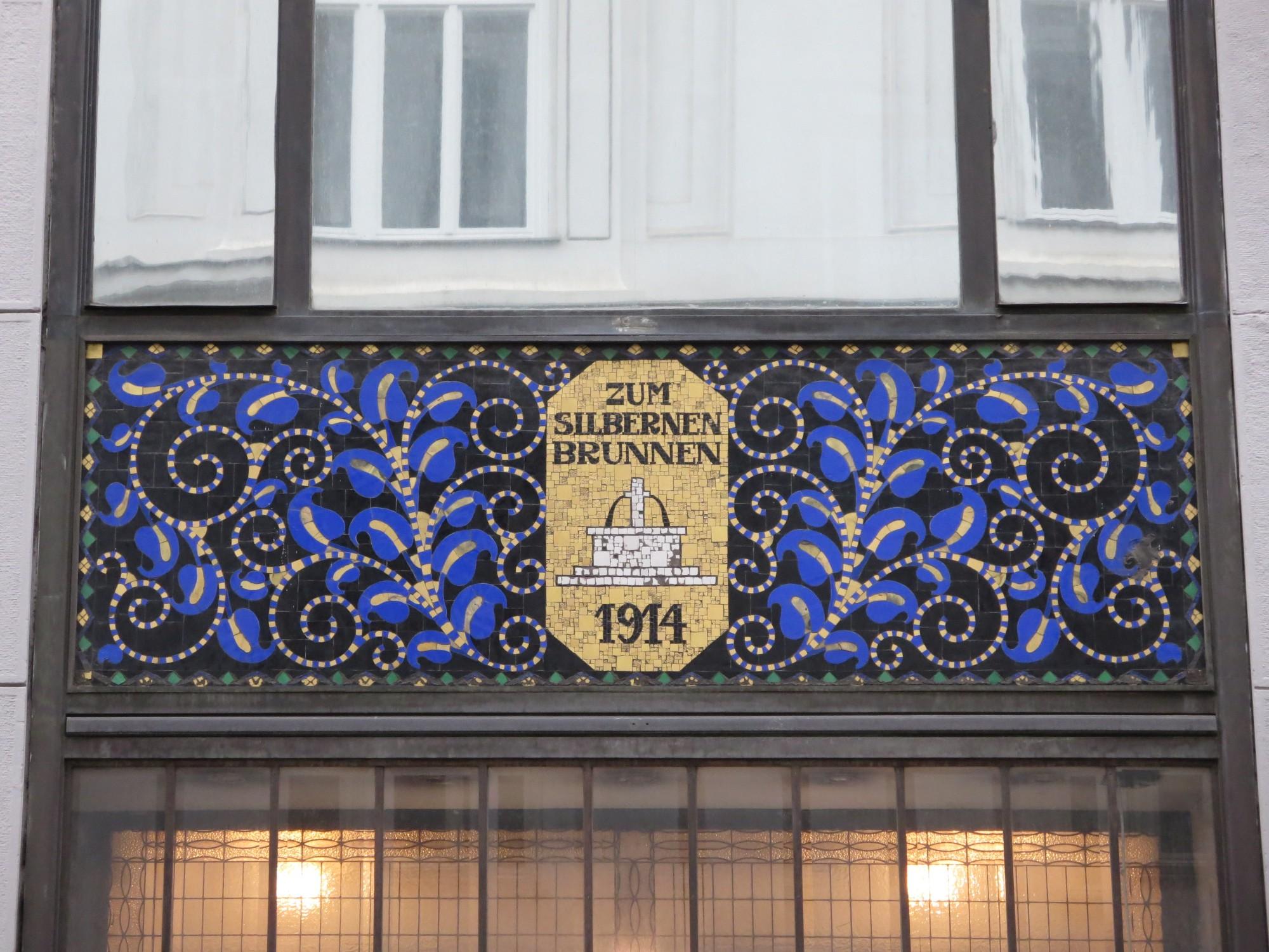 Mosaik \'Haus zum silbernen Brunnen\' (1) | 1. Bezirk | Bilder im ...
