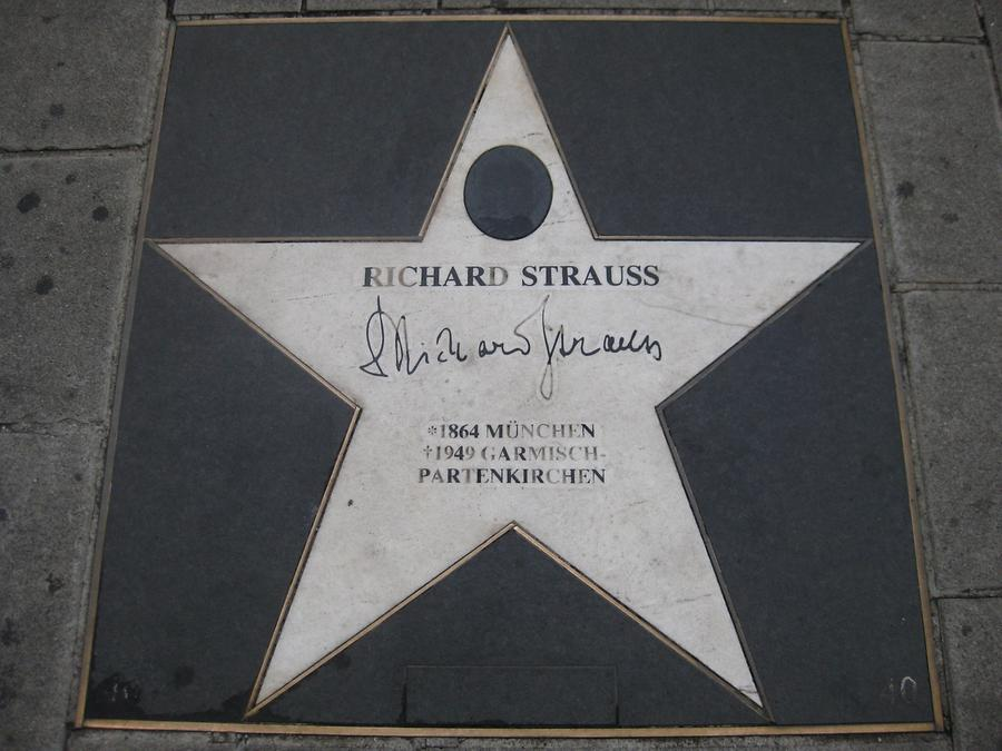 Richard Strauss-Gedenkstern