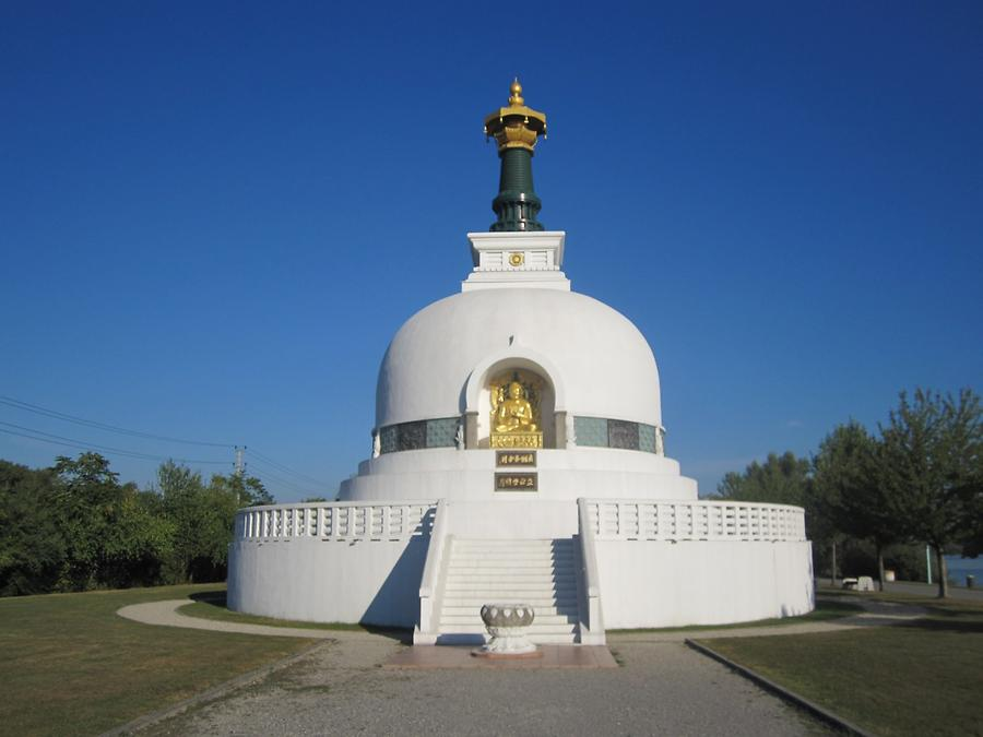 Stupa 'Friedenspagode'