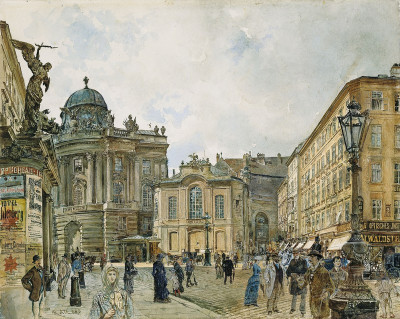 Michaelerplatz, © IMAGNO/Austrian Archives