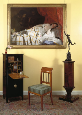 Biedermeier Interieur, © IMAGNO/Austrian Archives