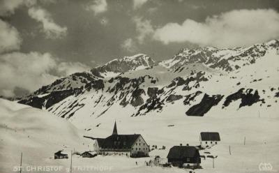 St. Christoph am Arlberg, © IMAGNO/Austrian Archives