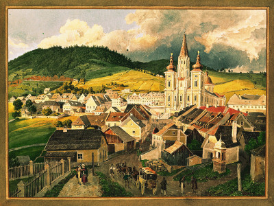 Blick auf Mariazell, © IMAGNO/Austrian Archives