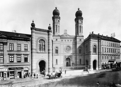 Die neue Synagoge in Budapest, © IMAGNO/Austrian Archives