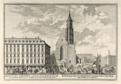 Wien: Michaelerkirche, © IMAGNO/Austrian Archives