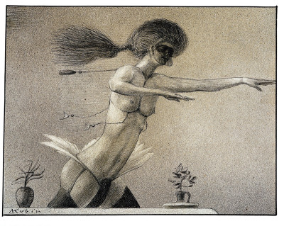 Alfred Kubin: Fee, © IMAGNO/Austrian Archives