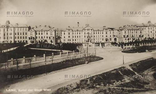Spital Der Stadt Wien In Lainz Lainz Historische Bilder Imagno