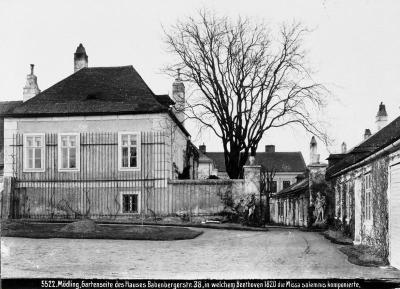 Beethovenhaus in Mödling, © IMAGNO/Austrian Archives