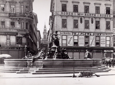 Donnerbrunnen am Neuen Markt, © IMAGNO/Austrian Archives