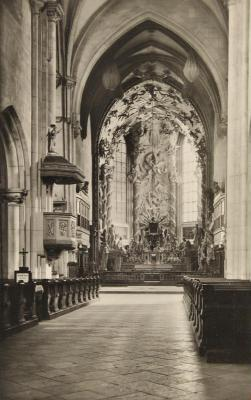 Michaelerkirche am Michaelerplatz, © IMAGNO/Austrian Archives