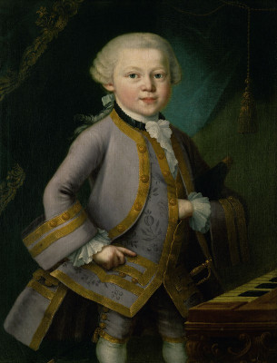 Der junge Wolfgang Amadeus Mozart, © IMAGNO/Austrian Archives (AA)