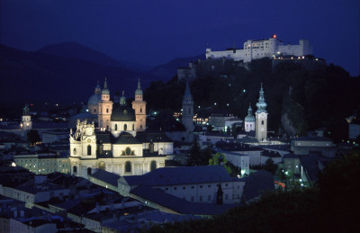 Salzburg bei Nacht, © IMAGNO/Alliance for Nature