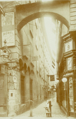 Die Rotgasse in Wien I., © IMAGNO/Austrian Archives