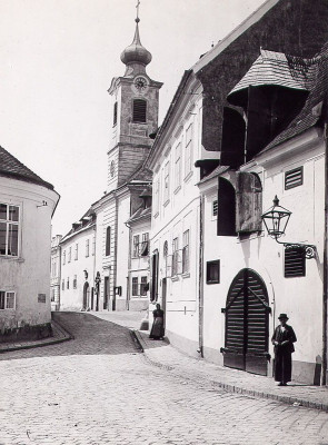 Kirche in Nussdorf, © IMAGNO/Austrian Archives