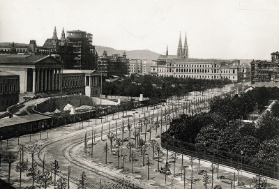 Die Ringstraße in Wien, © IMAGNO/Austrian Archives