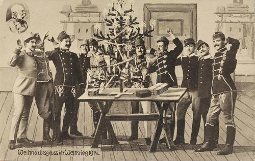 weihnachtsgruss im weltkrieg 1914 2 weltkrieg erster. Black Bedroom Furniture Sets. Home Design Ideas