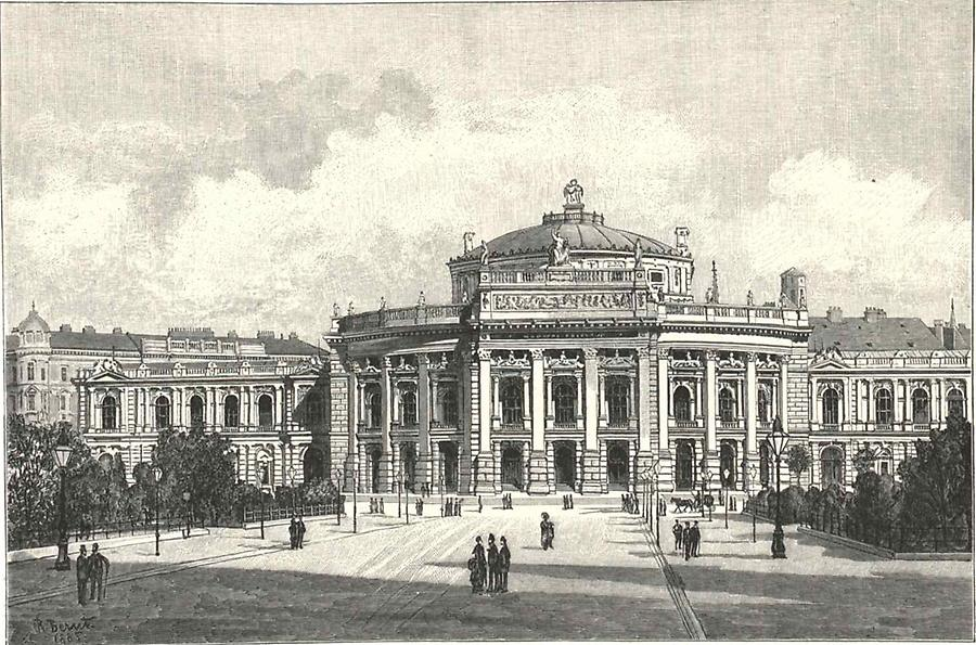 Illustration Neues Burgtheater Wien