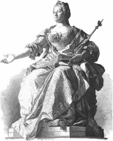 Illustration Maria Theresia-Denkmal Wien
