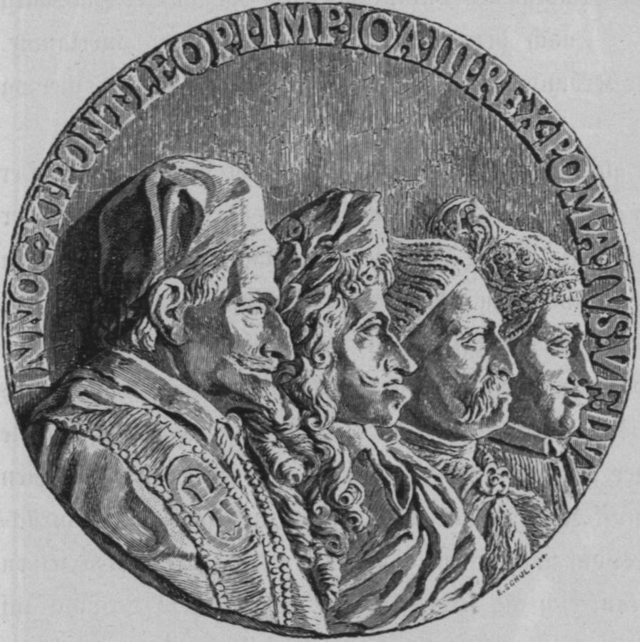 Illustration Medaille 'Heilige Liga'