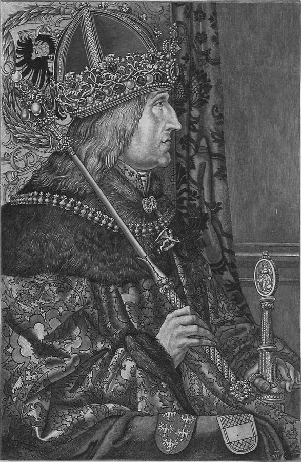 Illustration Kaiser Friedrich III.