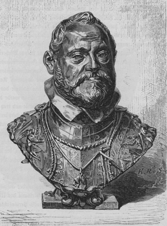 Illustration Kaiser Rudolf II.