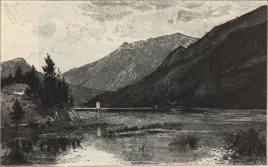 Illustration Lunzersee