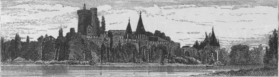 Illustration Schloss Laxenburg