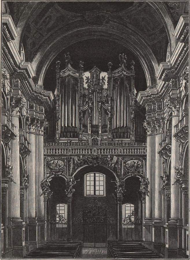 Illustration Orgel in St. Florian