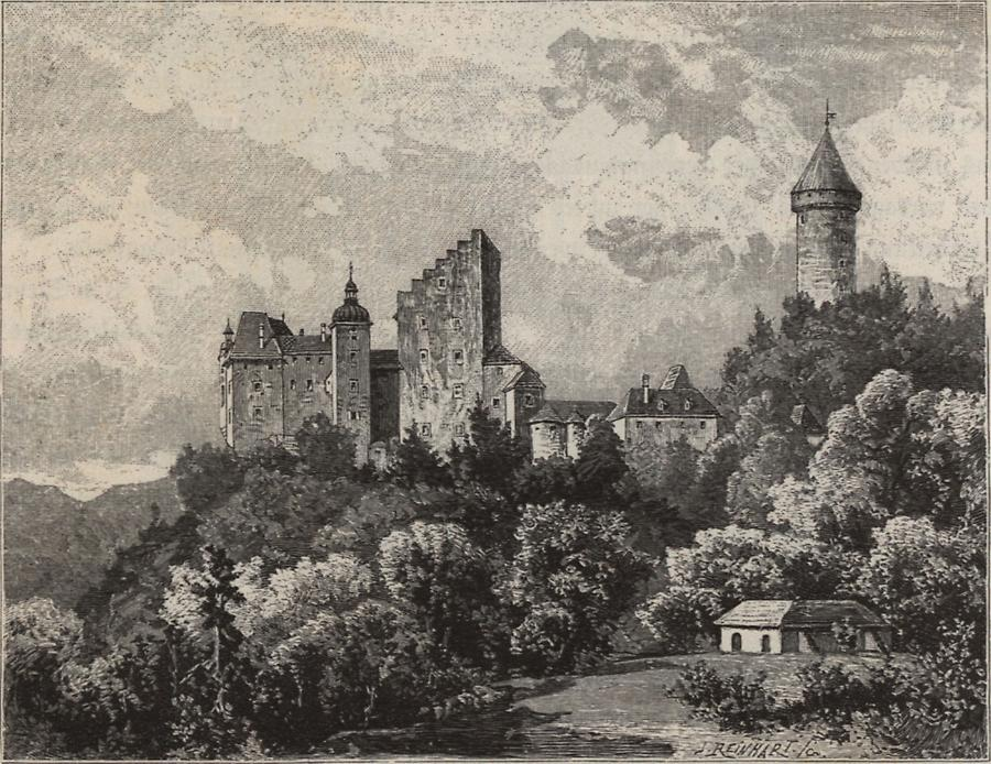 Illustration Burg Klamm