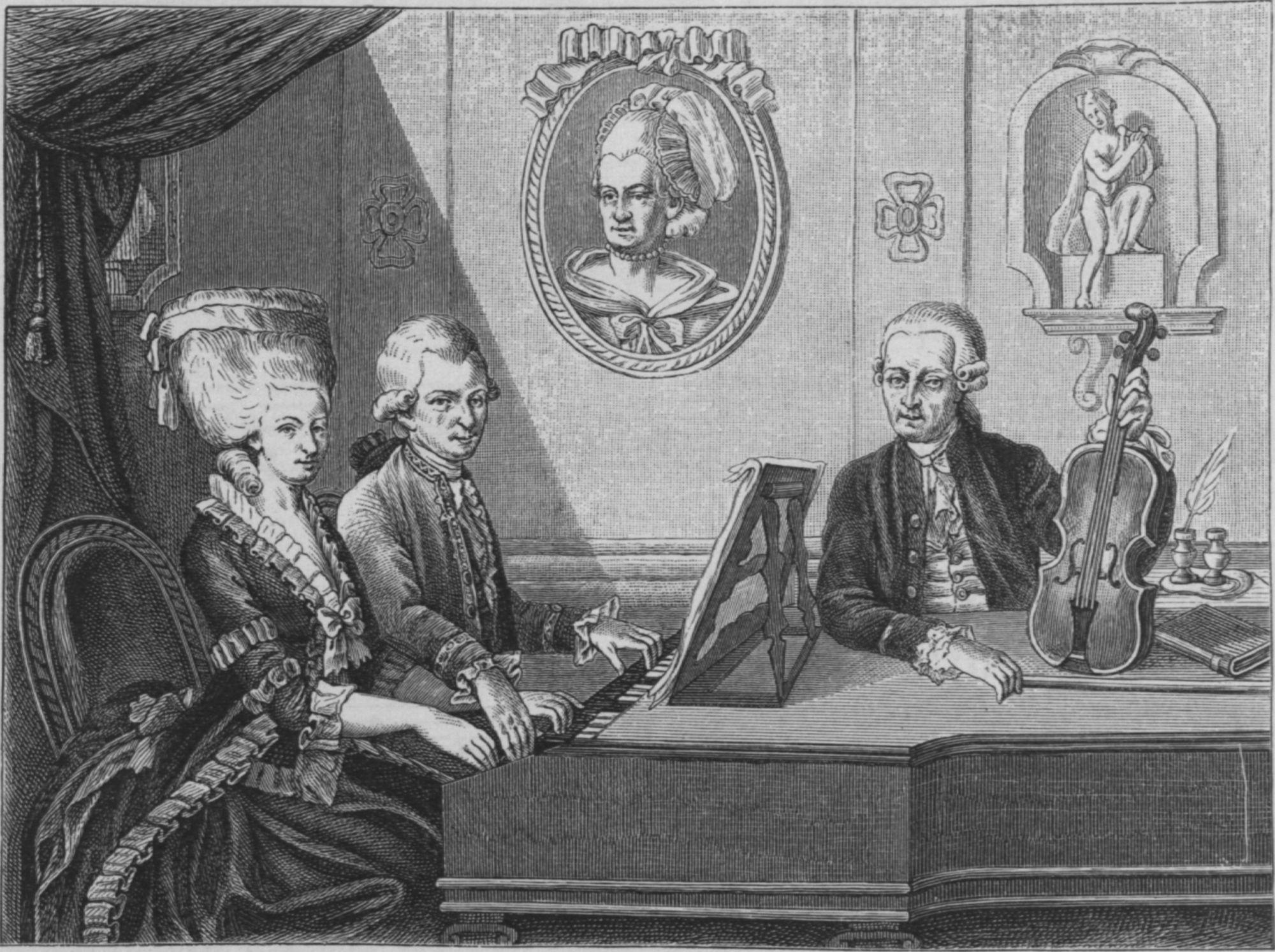 Leopold Mozart und Kinder#