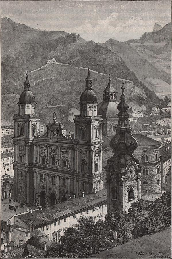 Illustration Domkirche Salzburg