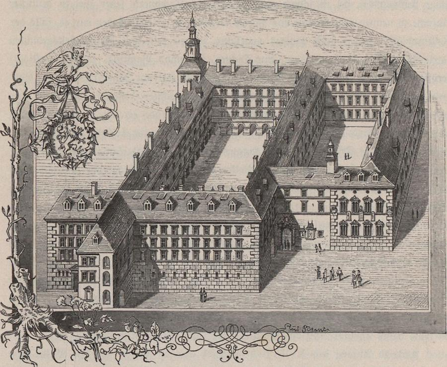 Illustration Jesuitenuniversität in Graz